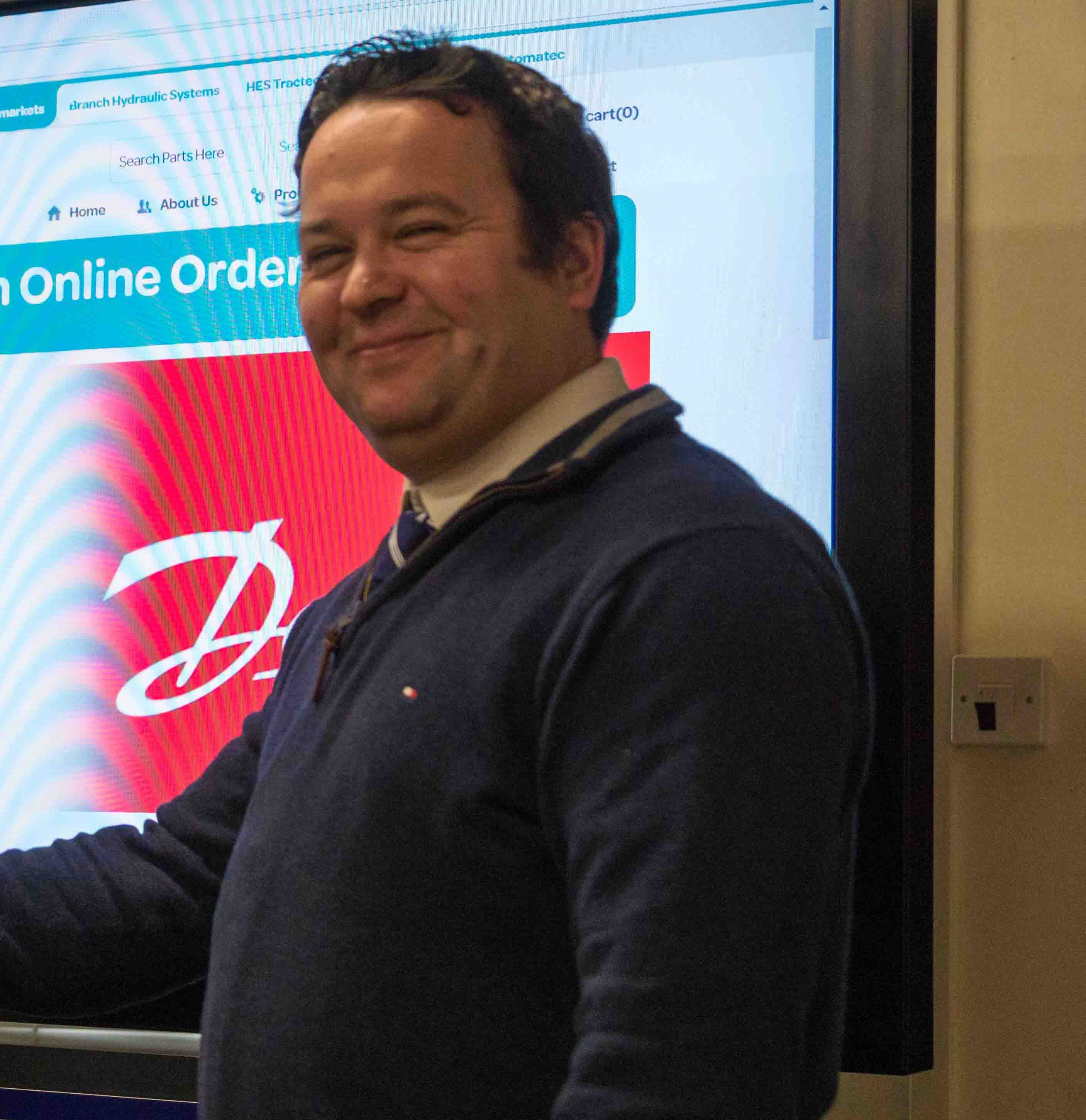 Harry Hamilton HES Technical Team Danfoss Product Manager