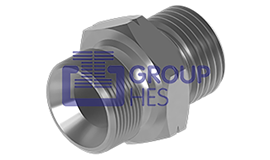 Picture of Metric MALE x Metric MALE Hydraulic Adaptors