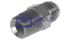 Picture of JIC MALE x NPTF MALE Hydraulic Adaptors