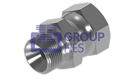 Picture of BSP MALE x BSP FEMALE Equal Hydraulic Adaptors