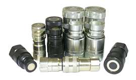 Picture of Male Flat Face Quick Release Couplings